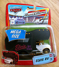 Disney PIXAR Cars ELVIS RV diecast MEGA SIZE RaceORama motorhome #9 Retired card