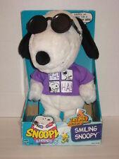 "Hasbro Smiling Snoopy Joe Cool Sunglasses Grins Plush 15"" Original Box"