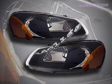 01-04 Dodge Stratus Sebring Headlights Black 02 03 New