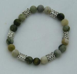 Connemara Marble Bracelet Irish Celtic
