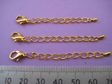 20 Bronze Plated Extender Chains K5402 50mm