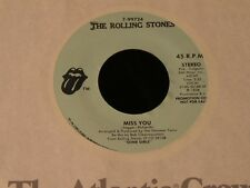 Rolling Stones-Miss You-1978 PROMO 45-NEAR MINT!