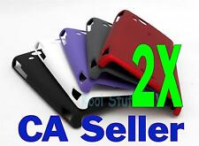 New 2X Hard Rubberized Case Sony Ericsson XPERIA Arc X12