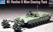 Trumpeter m1 Panther II mina clearing desactivación 1:72 modelo-kit Tank Kit