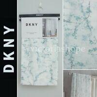 NEW DKNY 2 Panels Window Curtain Drapes ~ Promenade ~ Seafoam Green ~ 50x96