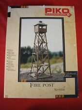 PIKO G SCALE 62222 FIRE POST BRAND NEW OPEN BOX KIT WEATHER PROOF