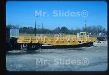 Original Slide Freight MP Missouri Pacific -UP Fresh Paint Special Flat 504