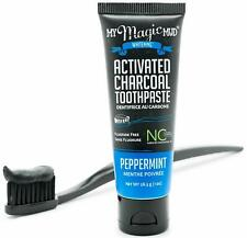 My Magic Mud Activated Charcoal Travel Size Peppermint Toothpaste 1oz
