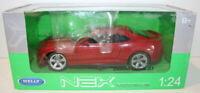 Welly NEX 1/24 Scale 24042W - Chevrolet Camaro Zl1 - Red