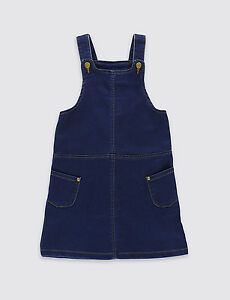 GIRLS PINAFORE DRESS EX CHAINSTORE SIZES 18 MONTHS TILL 7 YEARS