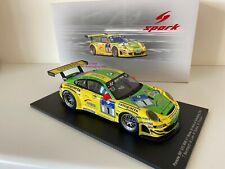 1:18 SPARK PORSCHE 997 GT3 RSR MANTHEY #1 WINNER 24h NURBURGRING 2009 18S058