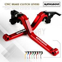 CNC 1 PAIR Lever Long Adjustable Brake Clutch Levers for HONDA VFR800 1998-01