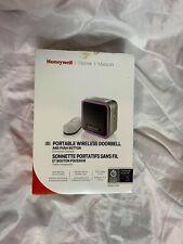 Honeywell Home Rdwl917Ax2000/E Doorbell Portable Wireless Doorbell & Push Button