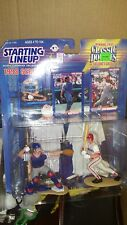 1998 Kenner Starting Lineup Classic Doubles Mike Piazza and Ivan Rodriguez