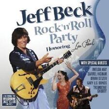 "JEFF BECK ""ROCK'N'ROLL PARTY - HONORING LES PAUL""CD NEU"