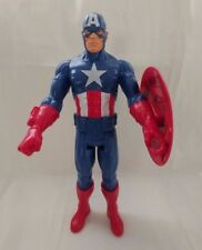 """Marvel Large 11"""" Action Figure Captain America with Shield Plastic Toy"""