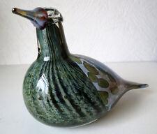 Iittala OIVA TOIKKA  Annual 1997 Art Glass Bird Song Trush  Excellent Condition