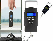 Portable 40kg Handheld Digital Luggage Scale Balance Weighing Suitcase Travel*sc