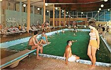 A View of the Indoor Pool at the Stevensville Country Club, Swan Lake NY
