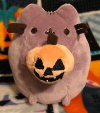 GUND Pusheen Plush Halloween Jack-o-Lantern Pumpkin