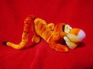 Disney Store Tigger Plush Winnie the Pooh & Friends Stuffed Tiger Laying 8 in