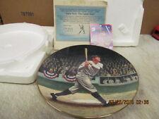 "1992 Delphi ""Babe Ruth: The Called Shot"" LE Collector's Plate  COA, Card,++"