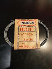 N.O.S lot de 2 câbles de passage de vitesses PEUGEOT BB3 BB 3 sport sp mobylette