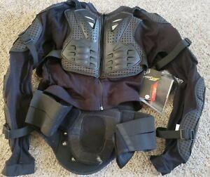 Fox Racing Titan Sport Jacket Dirt bike Motorcycle BMX Chest Back Protector SzXL