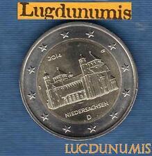 2 euro Commémo - Allemagne 2014 Eglise Saint Michel J Hambourg Germany