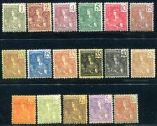 INDOCHINE 1904 Yvert 24-40 * sehr schöner SATZ (S5233