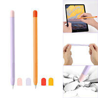 For Apple Pencil 2 Soft Silicone Stylus Pen Pencil Protective Case Cover Skin US