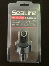 SeaLife Flex-Connect Y-S Adapter Mounts to Flex-Connect - Connect any light