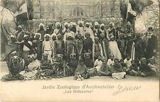 """""""Les Malabares"""", Jardin Zoologique d'Acclimatation, Paris, France 1904"""