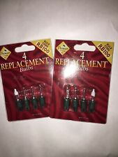 Vintage Christmas Lights Premier RB100 Replacement Bulbs