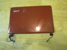 Acer D150 AOD150-OBR Red Lid LCD Back Cover, Mic, Webcam, WiFi Antenna #266-99