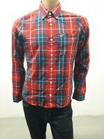 Camicia HOLLISTER Uomo Shirt Man Chemise Homme Taglia size M Cotone 8425
