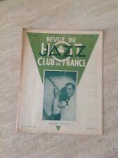 Revue Du Hot Jazz Club De France Numéro 8 -Juillet Août 1946 Andre EKYAN