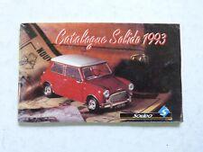 catalogue automobile  camion etc.... SOLIDO  1993