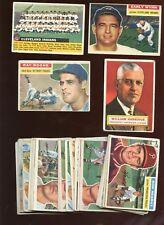 1956 Topps Baseball Card Lot 35 Different VG