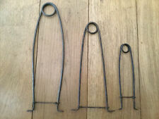 COLLECTION OF VINTAGE FISHING PIKE GAGS.