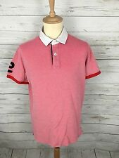 Men's Tommy Hilfiger Polo Shirt - XL - Slim Fit - Pink - Great Condition