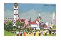 1933 Chicago World's Fair PC Belgian Village