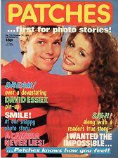 Patches Magazine 31 October 1981 No. 139   Girlschool   David Essex   Undertones