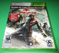 Dead Island -- Game of the Year Edition Microsoft Xbox 360 *Sealed! *Free Ship!