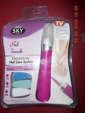 Sky Nail Smooth electronic nail care system New.