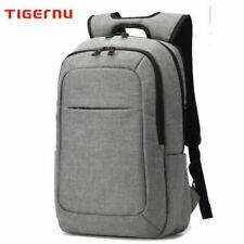 "17"" Laptop Backpack USB Waterproof Anti-Theft Business Travel School Rucksack UK"