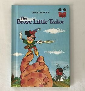 Vintage 1974 Brave Little Taylor MICKEY MOUSE Disney WONDERFUL WORLD OF READING