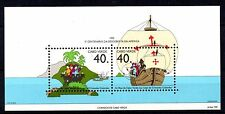 STAMPS - MINIATURE SHEET - CABO VERDE - CHRISTOPHER COLOMBUS - 1992 -