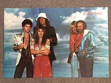 Fleetwood Mac 1978 Vintage Music Poster 35x23 Music Rock 'N' Roll