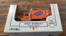 ERTL 1931 Delivery Truck Bank Supermix Our Own Hardware Diecast Metal